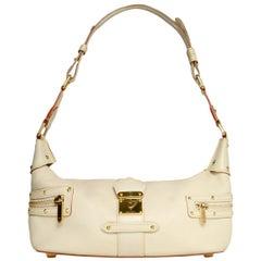 Louis Vuitton Ivory Leather L'Impetueux Suhali Shoulder Bag