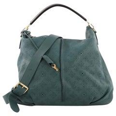 Louis Vuitton Selene Handbag Mahina Leather MM