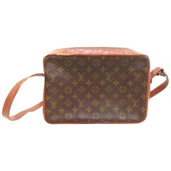 Louis Vuitton Monogram Sac Bandouliere 223824 Brown Coated Canvas Shoulder Bag
