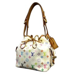 Louis Vuitton Noe 220162 Mulitcolor Coated Canvas Shoulder Bag