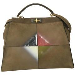 Fendi Peekaboo Bag, Suede, limited edition