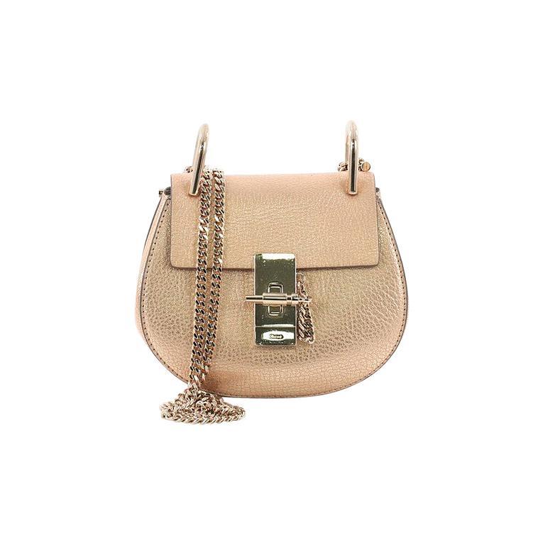 fa0ab34990 Chloe Drew Crossbody Bag Leather Nano