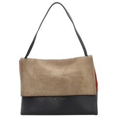 Celine All Soft Tote Suede with Leather