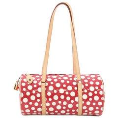 Louis Vuitton Papillon Handbag Monogram Vernis Kusama Infinity Dots 30