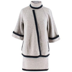 Chanel wool & cashmere two piece skirt & top US 8