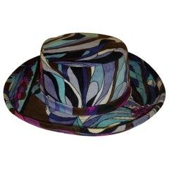 Vintage Velvet Emilio Pucci Hat