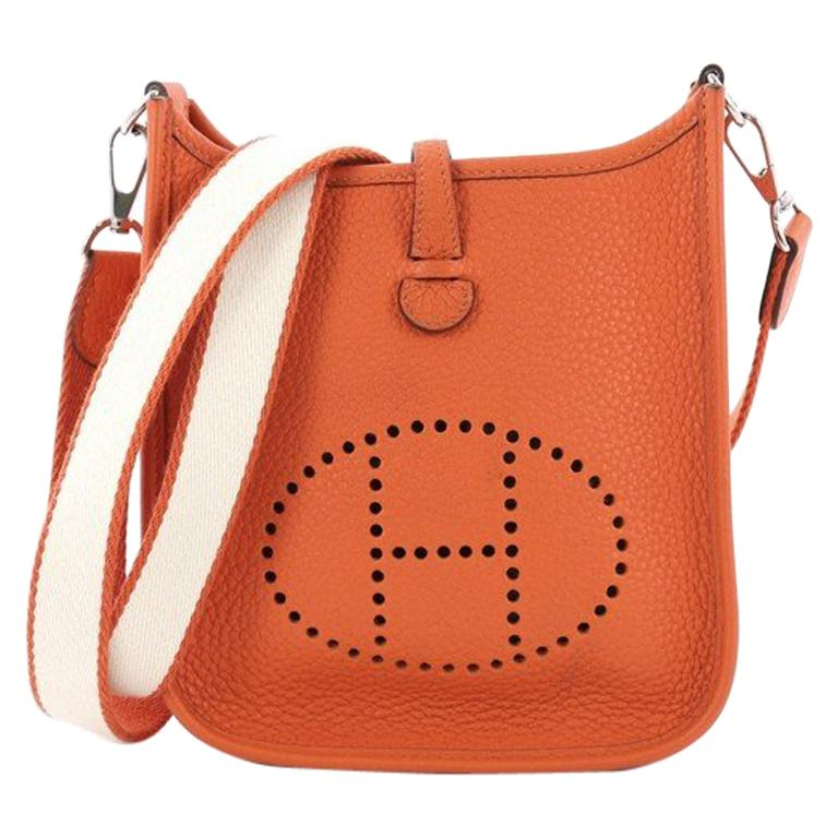 Hermes Evelyne Crossbody Gen III Clemence TPM For Sale