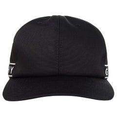Givenchy Men's Black 4G Side Strap Baseball Cap