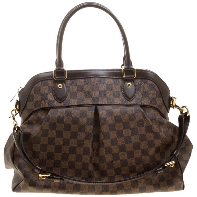 Louis Vuitton Damier Ebene Canvas Trevi GM Bag For Sale at 1stdibs fd5f8a101bc58