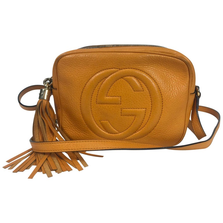 7367dca2865 Gucci Soho Disco Crossbody Bag For Sale at 1stdibs