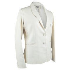 Hermes Jacket Winter White Leather 38 / 6