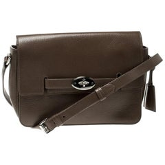 Mulberry Brown Leather Bayswater Shoulder Bag