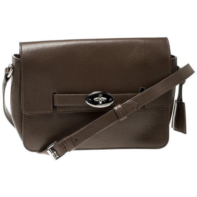 Mulberry Brown Leather Bayswater Shoulder Bag For Sale at 1stdibs 9ef72ff04e9f5