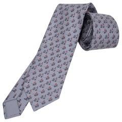 Hermes Tie Echec Au Jockey Twillbi Silk New