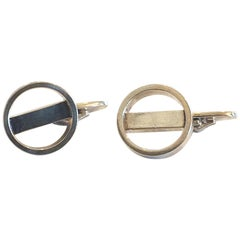 Pair of Georg Jensen Cufflinks design no.. 91 by Soren Jensen