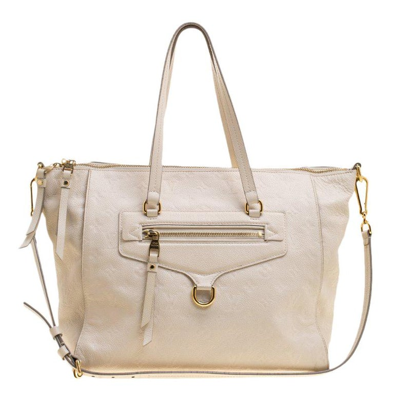 Louis Vuitton Beige Monogram Empreinte Leather Lumineuse PM Bag For Sale 42a07f2f72a3d