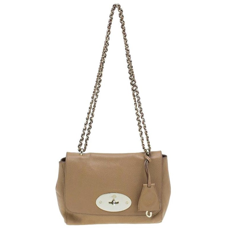 3efd8e0d92 Mulberry Tan Leather Small Lily Shoulder Bag For Sale at 1stdibs