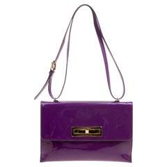 Purple Shoulder Bags