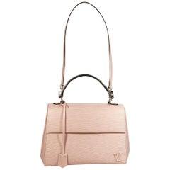 Pink Louis Vuitton Epi Leather Cluny MM Handbag
