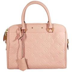 Pink Louis Vuitton Monogram Leather Speedy 25 Bag