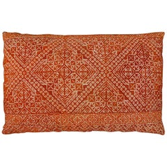 Cushion in embroidery of Fez - Morocco around 1900