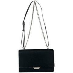 Black Yves Saint Laurent Small Velvet Babylon Bag