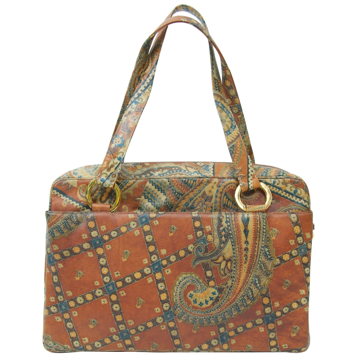 MM Odyssey Paisley Handbag and Wallet