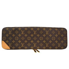 Louis Vuitton Monogram Canvas Men's Travel Vanity Accessory Tie Storage Case Bag