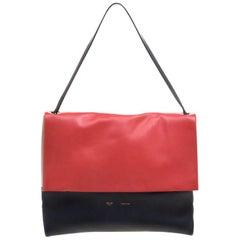 Celine Multicolor Leather All Soft Shoulder Bag
