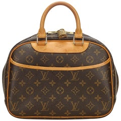 Louis Vuitton Brown Monogram Trouville
