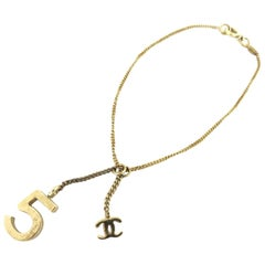 Chanel Gold 05a No 5 Charm 217694 Bracelet