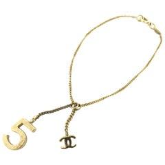 Chanel Gold 05a No 5 Charm 217694 Bracelet