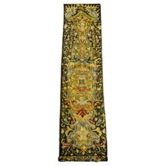 """French needle point """"Bonne-grâce"""" from a Louis XIV bed set - Late 17th century"""