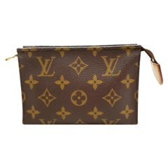 Louis Vuitton Brown Poche Monogram 15 232694 Cosmetic Bag