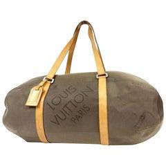 Louis Vuitton  Terre Damier Geant Attaquant Boston 232363 Weekend/Travel Bag