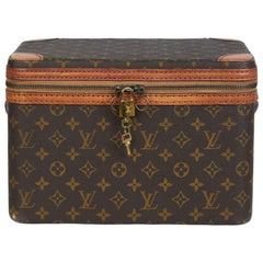 Louis Vuitton Vintage 1960s Train Case No Longer In Production