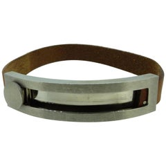 Hermès Brown H Slide 226932 Bracelet