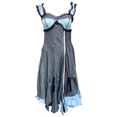 Italian Tricot Chic Couture Lingerie Inspired Dress