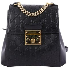 Gucci Padlock Backpack Guccissima Leather Mini