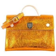 Christian Dior Diorever Handbag Leather Large