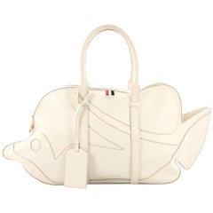 Thom Browne Trigger Reef Fish Bag Leather