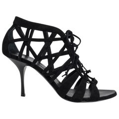 Giuseppe Zanotti Shoe Cage Black Suede 39 / 9