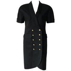 Chanel Black Suit Dress