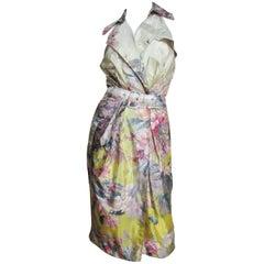 Jean Paul Gaultier Silk Wrap Dress