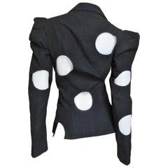 Yohji Yamamoto 1990s Jacket with Circle Cutouts