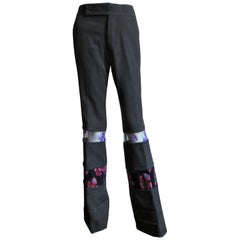 Comme des Garcons 2001 Color Block Pants