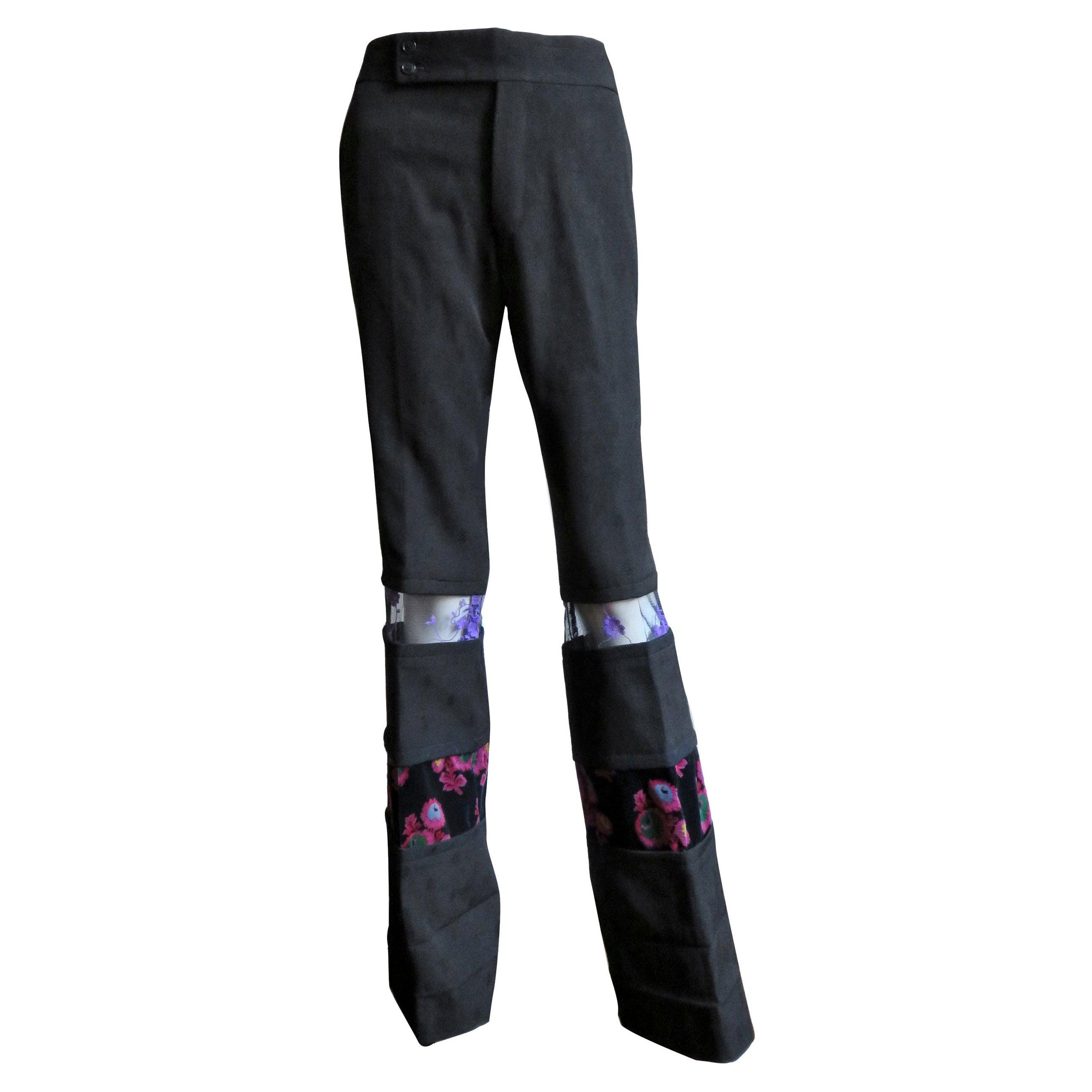 Comme des Garcons Color Block Pants AD 2001