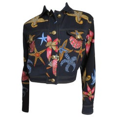 1990s Gianni Versace Starfish Jacket