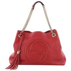 Gucci Soho Chain Strap Shoulder Bag Leather Medium
