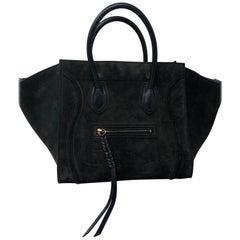 Celine Phantom Suede Bag